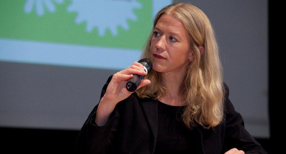Christiane Wirtz, portavoz del Gobierno de Alemania