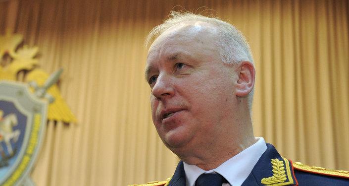 Alexandr Bastrikin, jefe del Comité de Investigación de Rusia