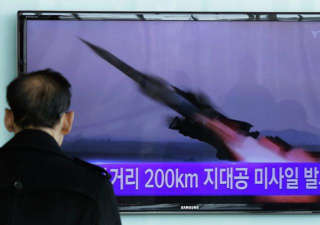 Misil de Corea del Norte (Archive)
