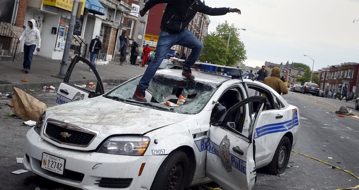 Disturbios en Baltimore