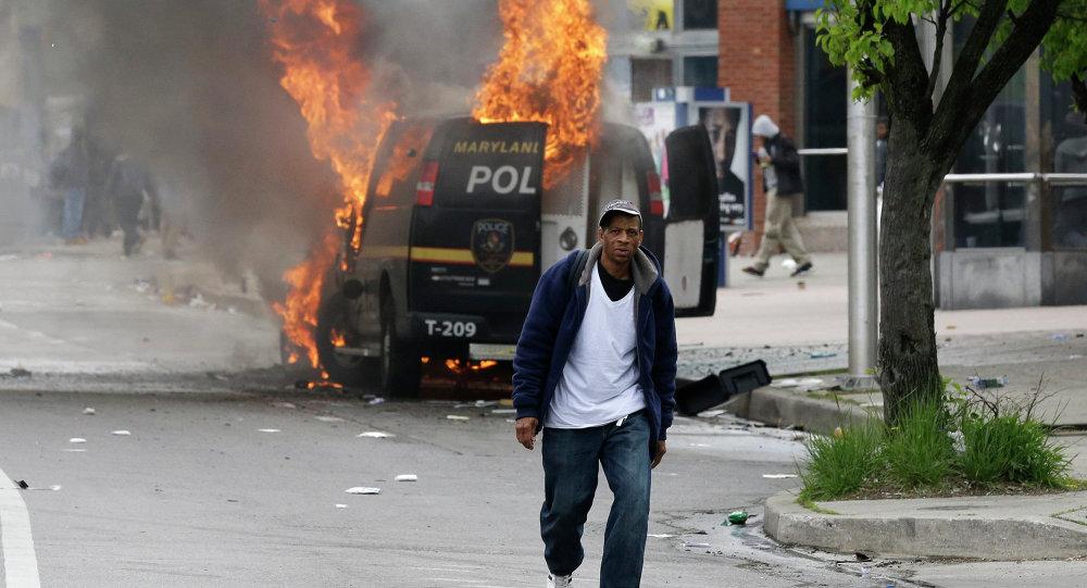 Protesta en Baltimore