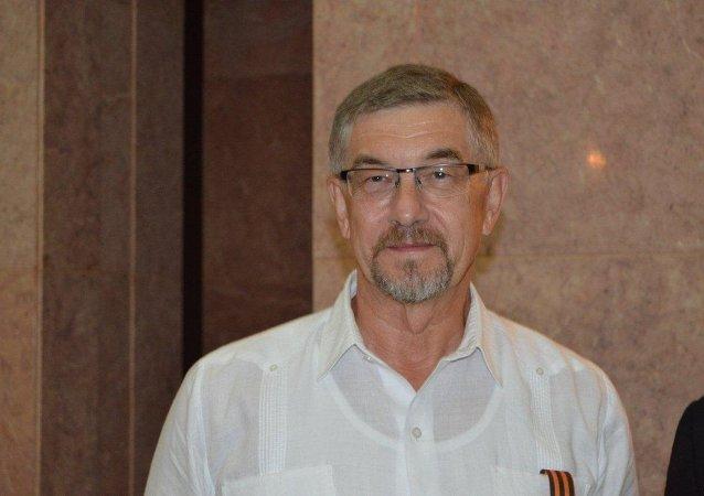 Mijaíl Kaminin, embajador de Rusia en La Habana, Cuba (archivo)