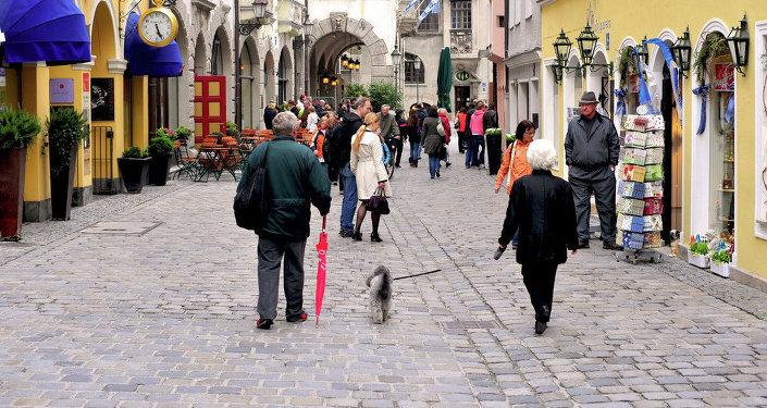 Una calle en Múnich (archivo)