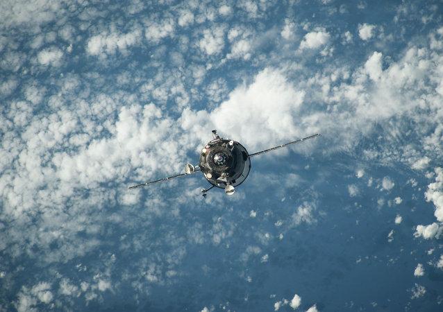 Carguero espacial Progress (Archivo)