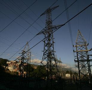 Estación eléctrica en Caracas, Venezuela