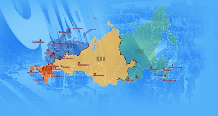 Mapa de los desfiles de la Victoria
