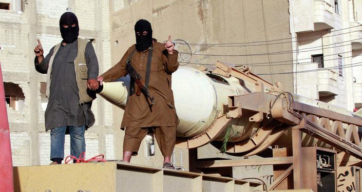 Combatientes del grupo terrroista ISIS en Siria (archivo)