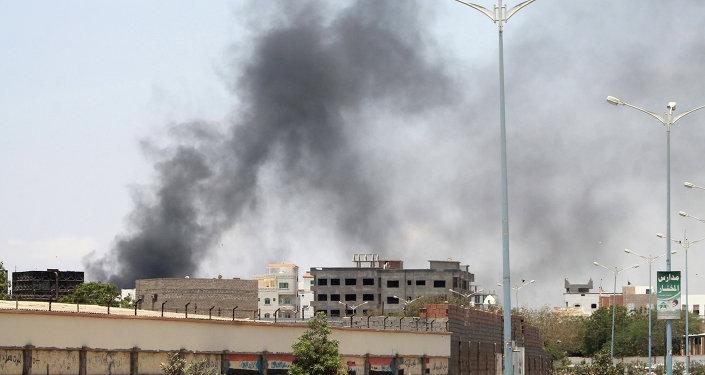 Situación en Adén, Yemen (archivo)