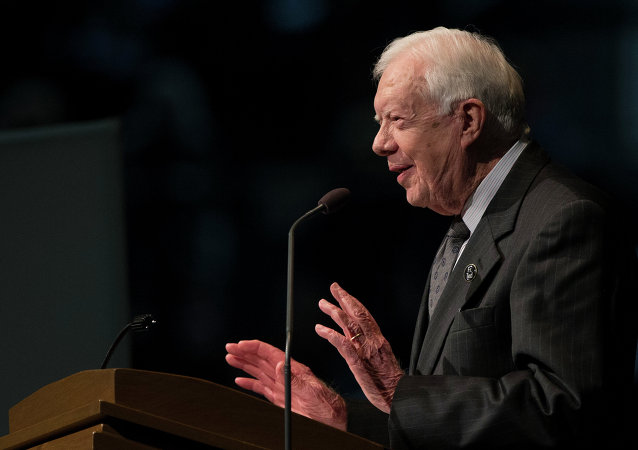 Jimmy Carter, expresidente de EEUU