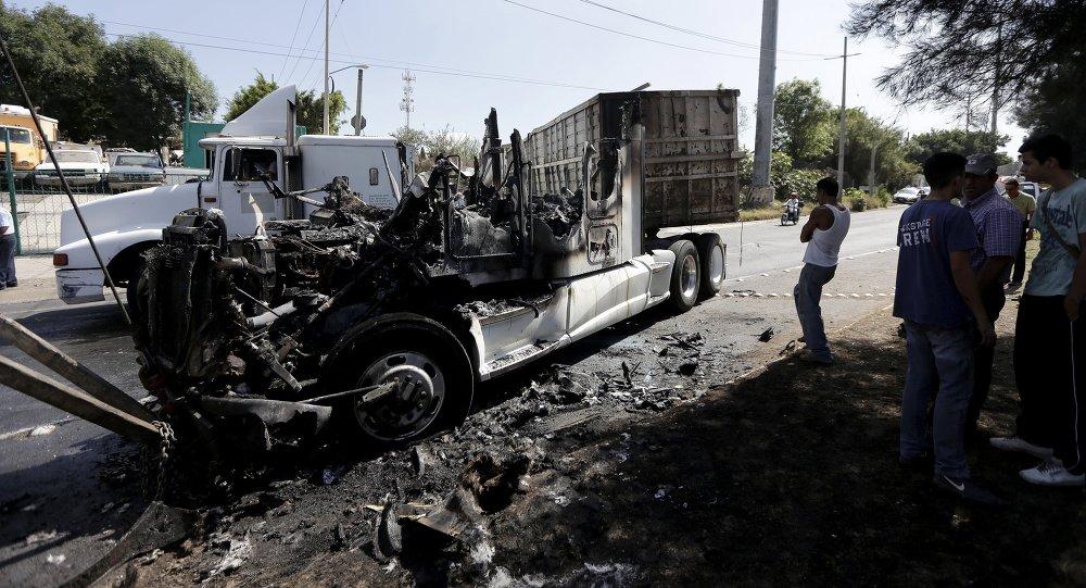 Bloqueos de autopistas alrededor de Guadalajara