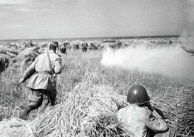 Soldados soviéticos (archivo)