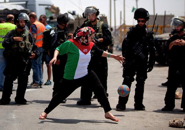 Fútbol en Palestina