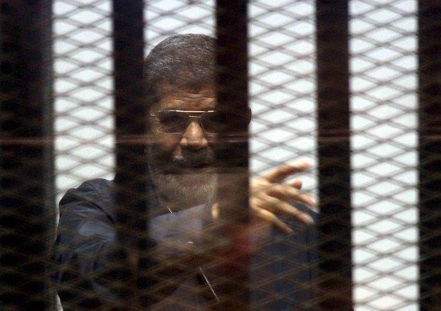 Mohamed Mursi, expresidente egipcio encarcelado