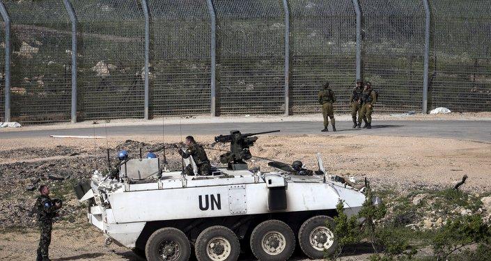 Frontera israelí-siria en los Altos del Golán (archivo)
