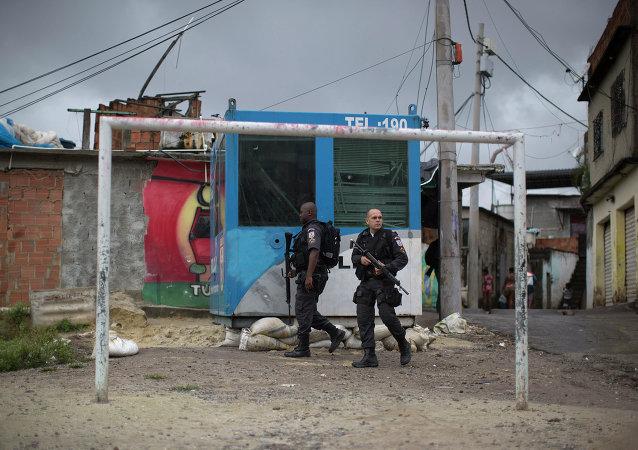 Policía militar de Río de Janeiro (archivo)
