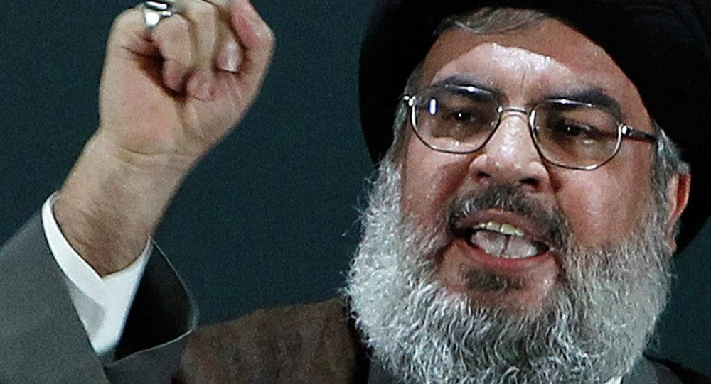Hasan Nasrala, líder del movimiento chií libanés Hizbulá