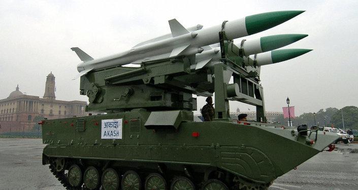 Nuevo misil tierra-aire entra al servicio de las FFAA de la India