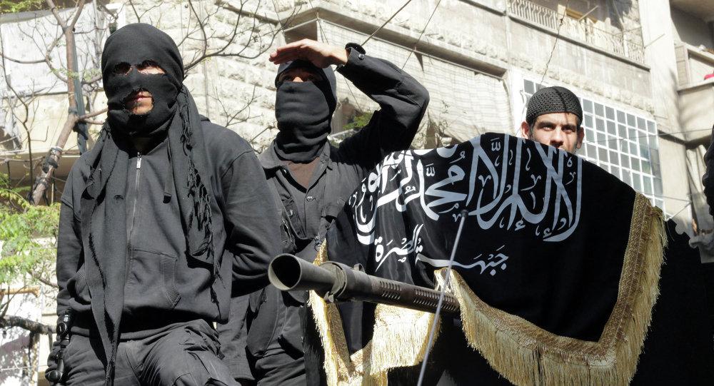 Milicianos del Frente al Nusra