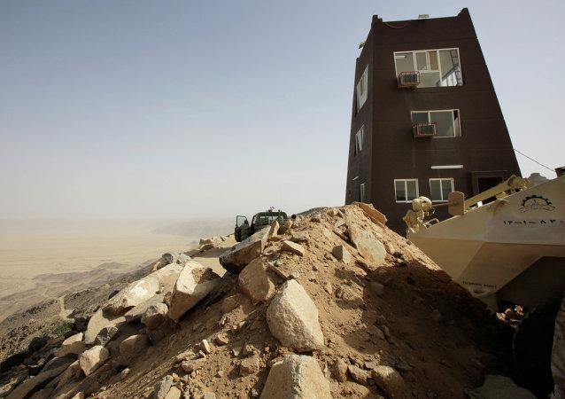 Situación en Najran cerca de la frontera con Yemen
