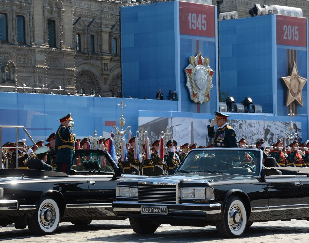 Ensayo general del Desfile de la Victoria