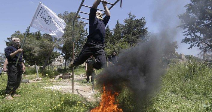 Efectivos del Ejército Libre Sirio