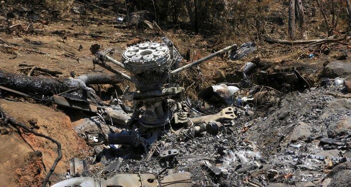 Helicóptero militar derribado por narcos en Jalisco