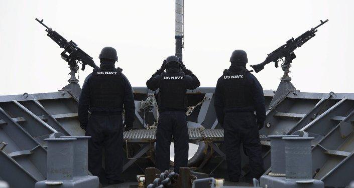 Marines estadounidenses en las costas noruegas