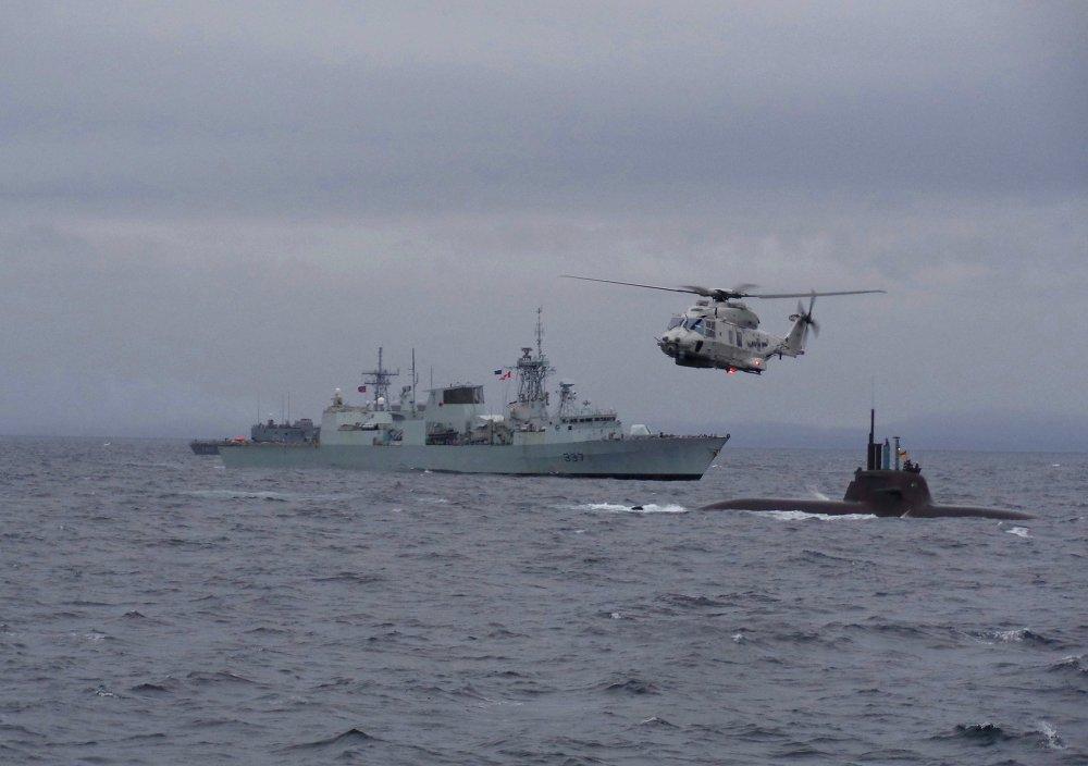 Ejercicios militares Dynamic Mongoose 2015 en Noruega