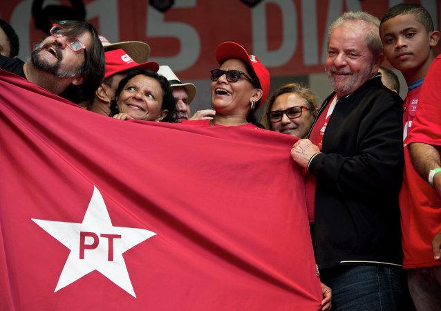 Ex-presidente de Brasil, Luiz Inacio Lula da Silva