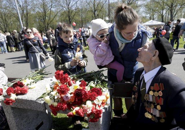La participación de jóvenes en el Día de la Victoria es motivo de preocupación en Riga