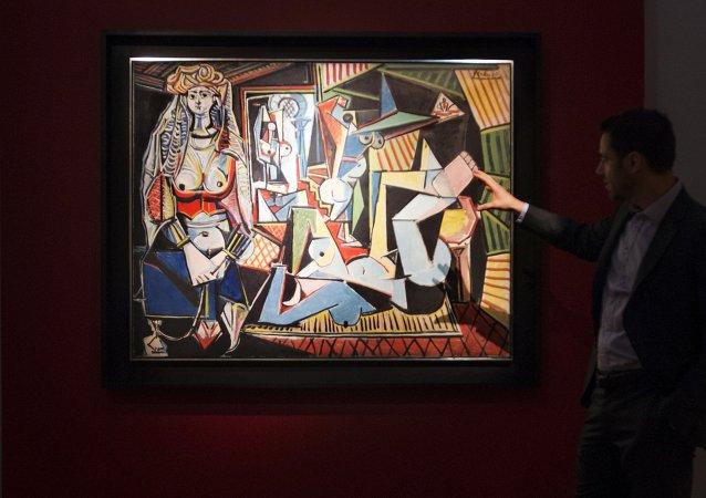 Mujeres de Alger (Versión O) de Pablo Picasso