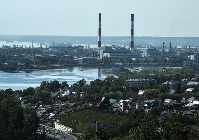 Kazan. la capital de Tatarstán