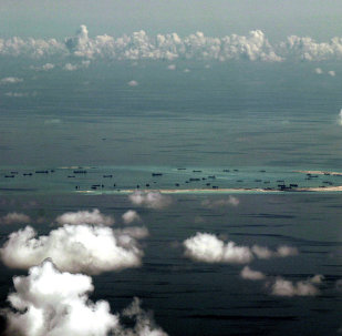 Islas Spratly en el mar de China Meridional