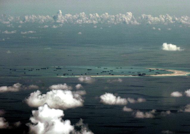 Islas Spratly en el mar de China Meridional