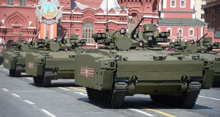 Carro de combate blindado Kurganets-25