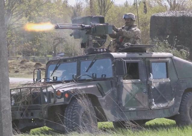 La OTAN celebra el simulacro Erizo 2015 en Estonia