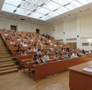 En una universidad rusa
