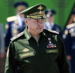 Serguéi Shoigú, ministro de Defensa de Rusia, a la 7ma División de Asalto