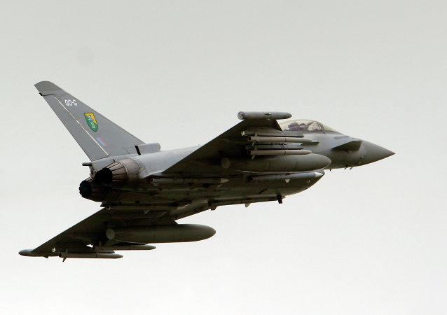 Caza Typhoon de la Fuerza Aérea Real