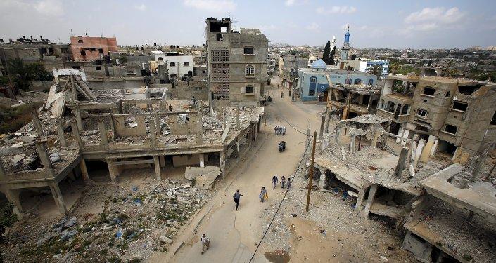 La Fuerza Aérea de Israel ataca el sector de Gaza tras lanzamiento de misil