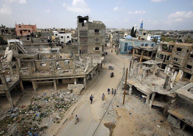 Situación en Franja de Gaza (imagen referencial)