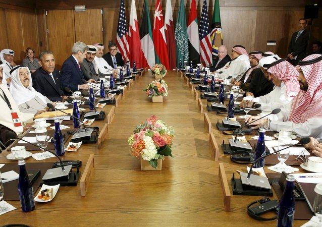 Líderes del Consejo de Cooperación para los Estados Árabes del Golfo (CCEAG)