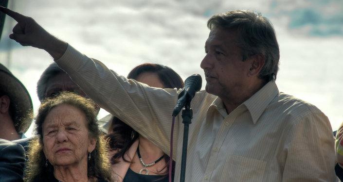 Andrés Manuel López Obrador, líder de la izquierda mexicana
