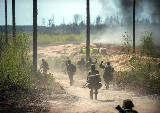 Maniobras de la OTAN en Estonia (archivo)