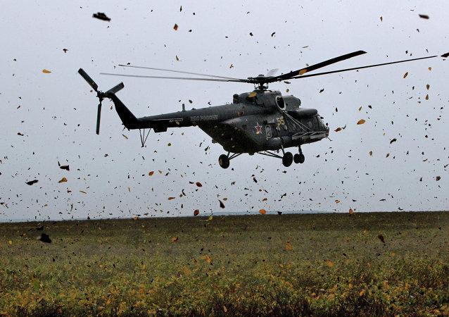 Helicóptero de transporte y combate Mi-8AMTSh (Mi-171Sh)