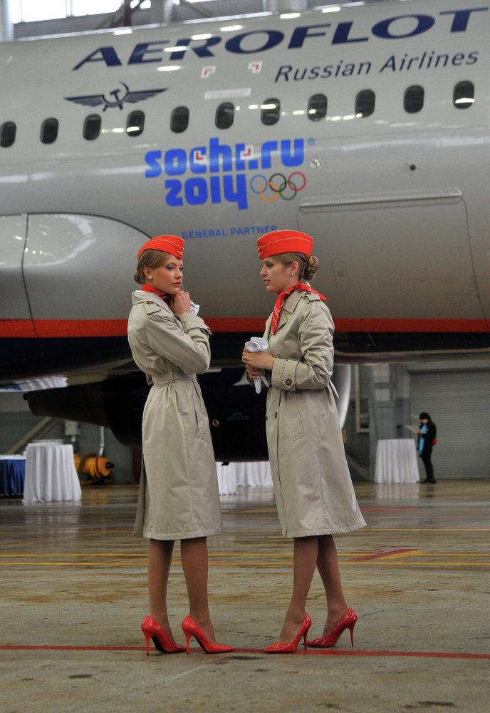 Las azafatas de Aeroflot