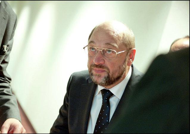 Martin Schulz, presidente del Parlamento Europeo