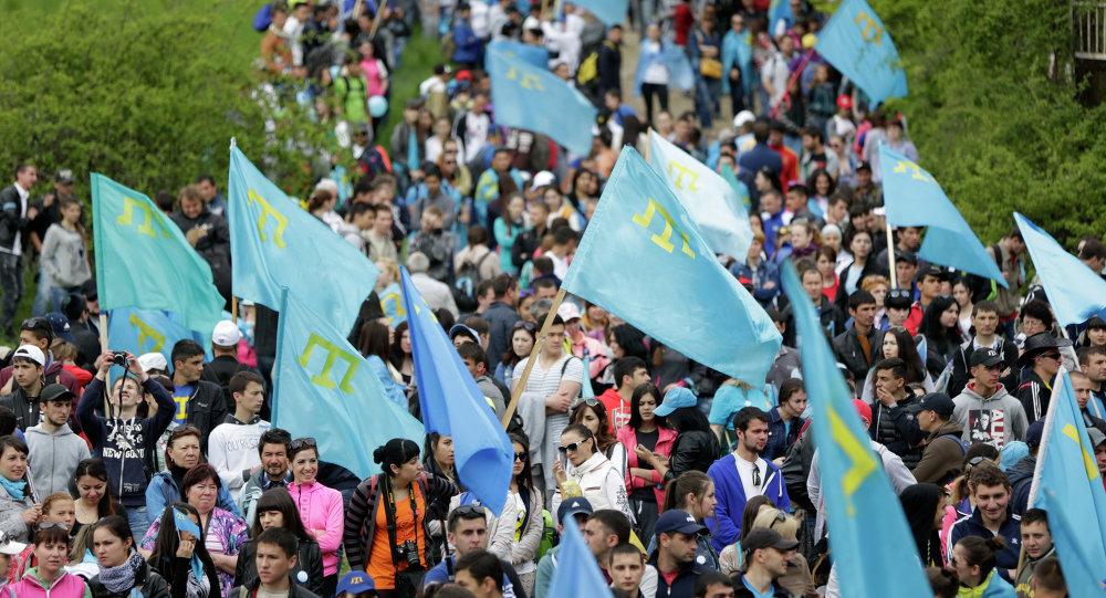 Conmemoración del 71 aniversario de la deportación en Crimea (archivo)