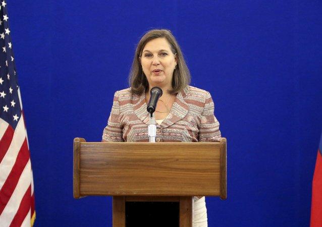 Victoria Nuland, subsecretaria de Estado de EEUU
