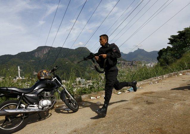 La DEA norteamericana entrena a la Policía Civil de Río de Janeiro contra el narcotráfico